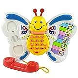 【网上城】欧锐 多功能趣味电话琴 益智玩具琴  字经打电话讲故事唱儿歌听音乐中英双语-图片