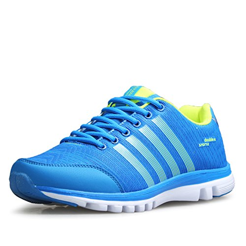 DOUBLE STAR 双星 DSA834 运动潮鞋夏季网鞋透气网面男女士休闲鞋子旅游跑步鞋