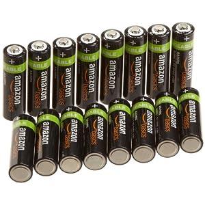亚马逊 倍思 AmazonBasics AA 型镍氢预充电可充电电池(16 节,2000 毫安)+(4 节,800 毫安) 182.7元包邮(189+53.7-60)