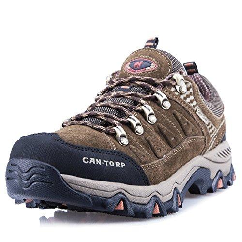 cantorp 骆驼男式户外登山鞋秋冬新款保暖耐磨防滑低帮鞋 男式商务休闲鞋LT-E13023