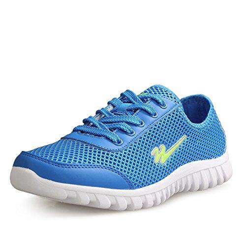 DOUBLE STAR 双星 DSA787 男女情侣鞋夏季超轻网面鞋运动休闲鞋缕空网布鞋子男