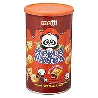 明治熊猫巧克力夹心饼干450g(效期3~6个月)
