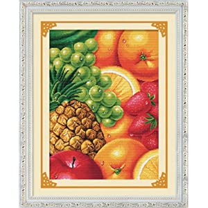 十字绣专卖客厅水果十字绣餐厅新款sg004的