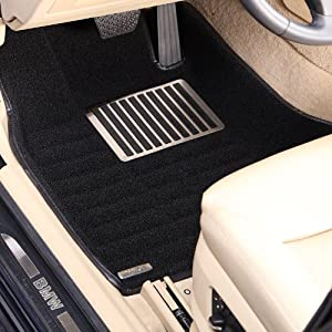 珍珠绒 大包围汽车脚垫 丰田系列 10款皇冠 YSZZR0425 整套高清图片