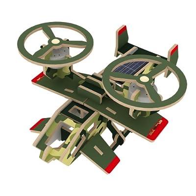 若态科技 木质太阳能科幻飞机模型 阿凡达造型 蝎子