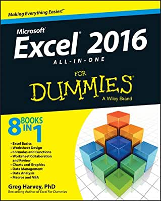 Excel 2016 All-in-One For Dummies.pdf
