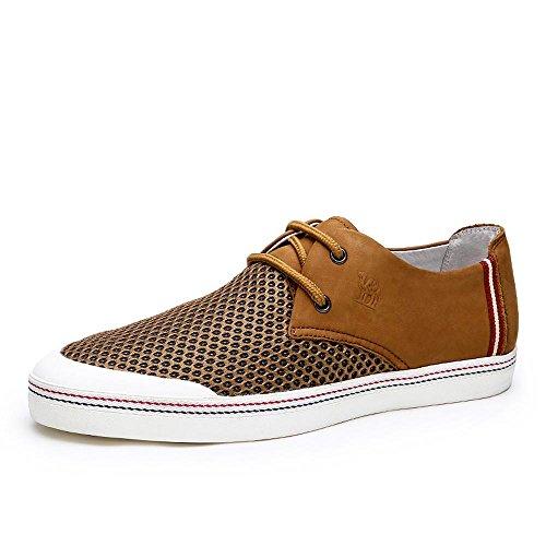 Camel 骆驼 男鞋 韩版潮流透气滑板鞋 2015夏季新款日常休闲板鞋