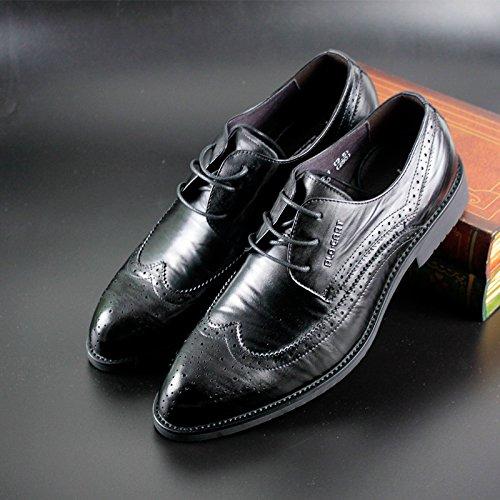 PLO·CART保罗盖帝男鞋 布洛克鞋尖头真皮英伦软皮正品16612522-1