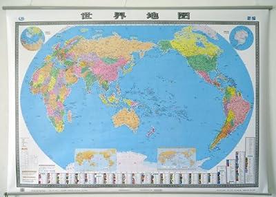 世界地图2013 挂图1.5米 1.1米 中英 无拼接印刷.pdf