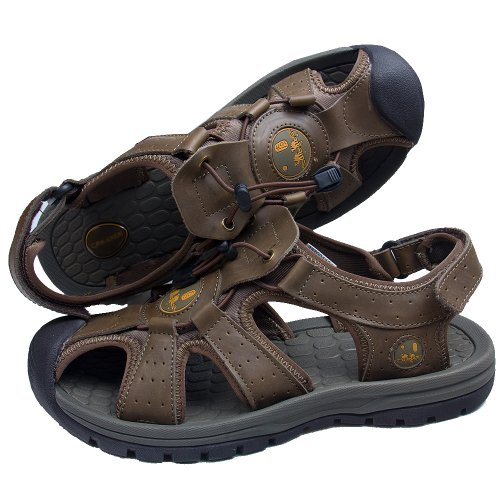 CAM.GNPAI 骆驼队长  夏季新款 户外必备 沙滩鞋 凉鞋 男鞋  清仓价  237001101