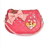 Disney 迪士尼儿童包包斜挎包 新款女童宝宝可爱小包包小学生单肩包 DR00016 (粉红色)-图片