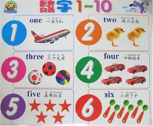 二十一世纪儿童启蒙学习挂图:数字1-10