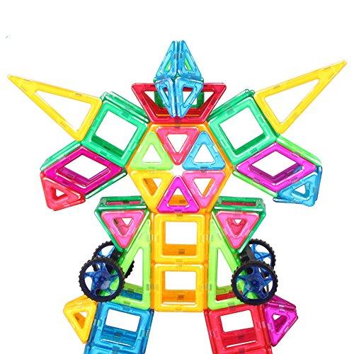 益智积木 磁铁拼装建构磁性积木 哒哒搭 拼插积木 儿童玩具 (187)