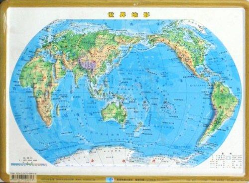 世界地形图_世界地形图手绘简图