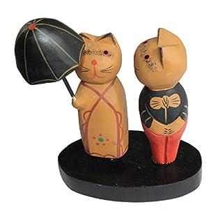 给动物撑伞的头像