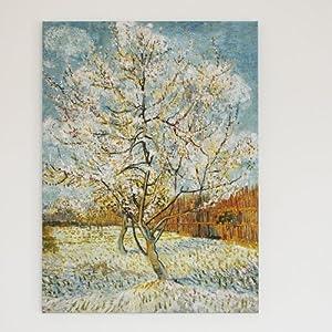 松木内框 ea335; 23posters 爱上艺术品 装饰画 无框画 荷兰梵高 星空