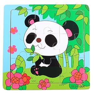 木有人 益智玩具 十二生肖 海洋动物 卡通动画 9片装