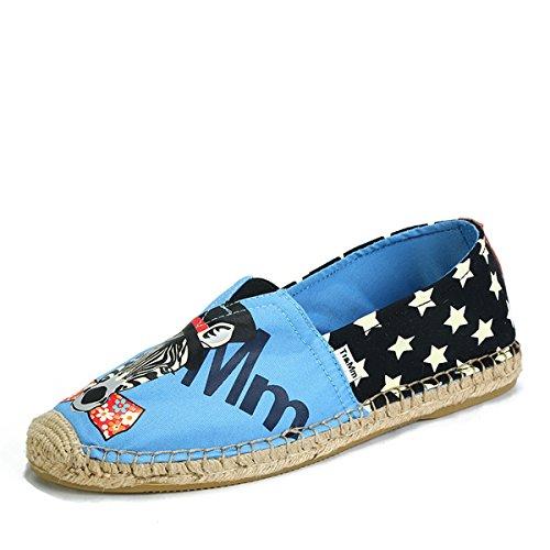 Tt&Mm 汤姆斯 2015夏季男鞋休闲新款帆布鞋韩版潮时尚麻底懒人鞋533209M