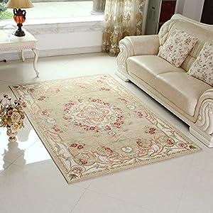 高档欧式客厅卧室地毯 床边沙发茶几家用地垫脚垫 防滑耐磨门垫地垫