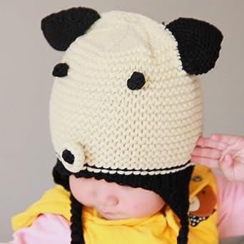 2013新款立体小猪婴儿宝宝帽子秋冬护耳帽