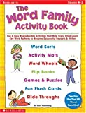 The Word Family Activity Book, Grades K-2