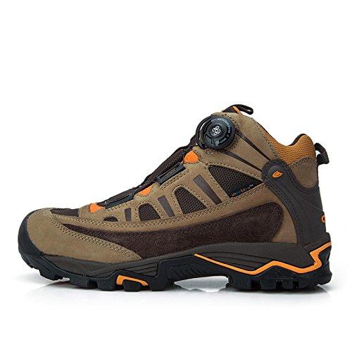 Clorts 洛弛 登山鞋防水透气保暖男鞋女鞋 高帮户外鞋 Boa快速系带
