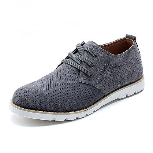 MULINSEN 木林森 透气男鞋韩版板鞋 男士休闲鞋 英伦流行工装鞋230588