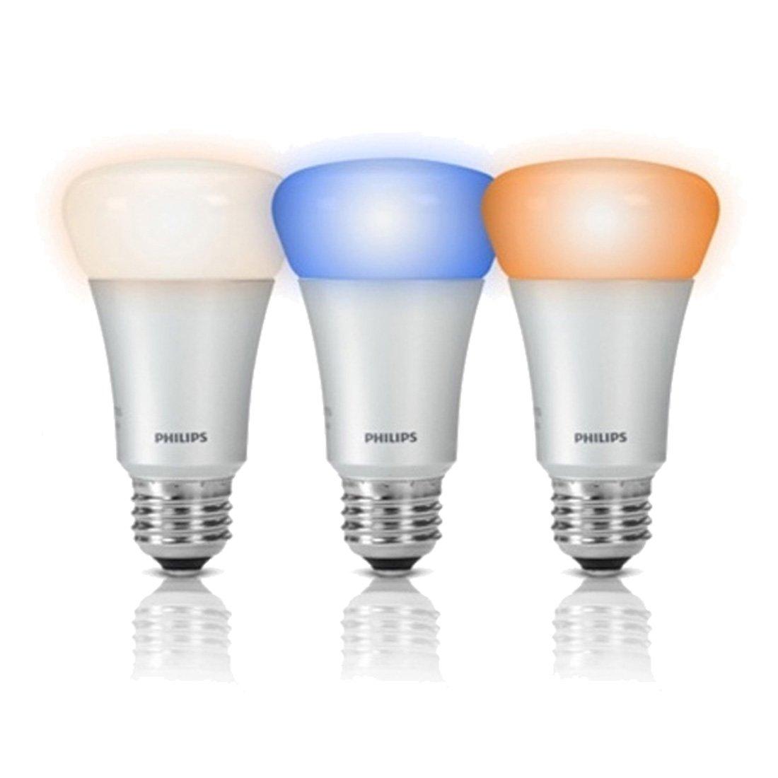 飞利浦hue智能led七彩灯泡手机wifi无线智能居家照明系统(3支装)
