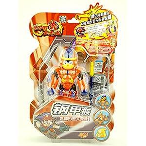 钢甲卡卡龙 变形玩具 钢甲猴