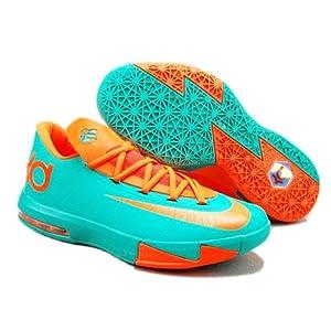 杜兰特6代5代篮球鞋kd6气垫透气低帮战靴