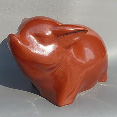 御豪 景德镇陶瓷雕塑瓷大师刘远长金珠生肖猪家居摆件