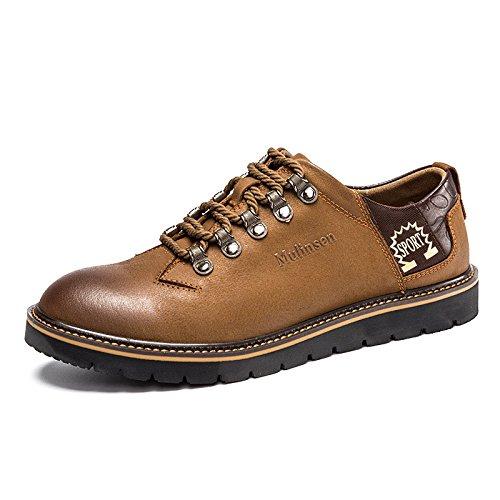 MULINSEN 木林森 男鞋户外休闲鞋系带韩版潮流男士单鞋子