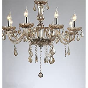 doaer 度尔 水晶灯吊灯餐厅灯卧室灯客厅灯欧式灯三头