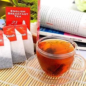 斯里兰卡 进口红茶 dilmah迪尔玛 英式早餐茶50茶包100g/盒图片