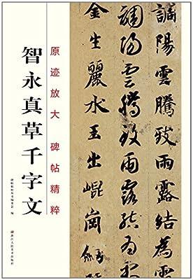 原迹放大·碑帖精粹:智永真草千字文.pdf