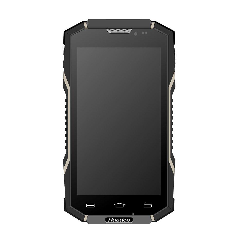 华度 Huadoo V2 高通8610 双卡双待电信3G+移动联通2G IP-68户外三防智能手机 (沙漠白黑色): 手机/通讯