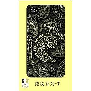 headcase iph4/4s 花纹系列 (黑)