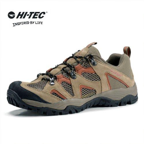 英国HI-TEC海泰客 2014春夏季新品 男款户外低帮透气耐磨  超轻网面徒步鞋 41-5C003