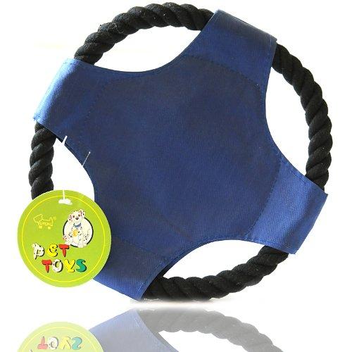 财猫社帆布棉绳飞盘图片