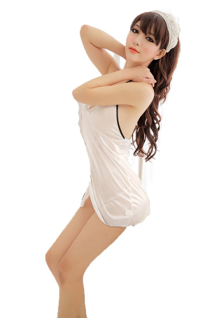 可爱系带挂脖性感女士情趣内衣睡衣内裤-服饰