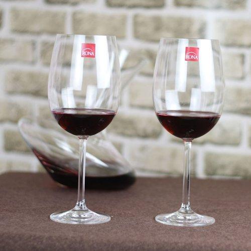 RONA洛娜无铅水晶波尔多2610红酒杯   2只装礼品装  ¥88