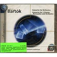 进口CD:巴托克:2架钢琴协奏曲等