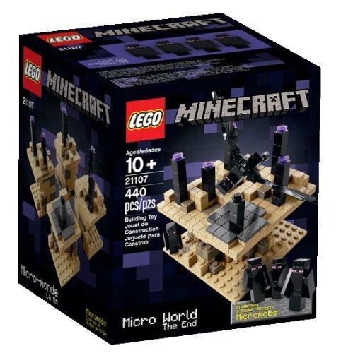 乐高LEGO 21107 Minecraft 创世神 终界 The End $32.86
