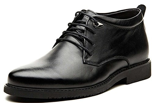 FGN 皮鞋 男士 真皮 型男高帮正装皮鞋 时尚商务休闲皮鞋 加绒时装靴 秋冬靴 男鞋111719
