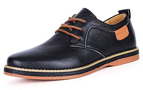 英伦时尚男鞋 潮流男单鞋 潮流低帮鞋子 耐磨皮鞋 圆头系带 商务休闲鞋 GH60G01