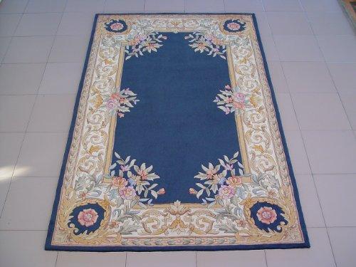 蓝色欧式窗帘贴图