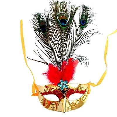 年会用品圣诞节面具化妆舞会面具公主威尼斯面具羽毛