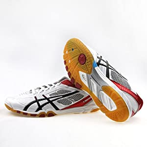 asics 亚瑟士 专业乒乓球鞋tpa327-0123