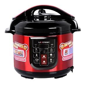 利仁压力锅多功能微电脑显示面板:拥有煮饭,汤,排骨,鸡肉类,豆类