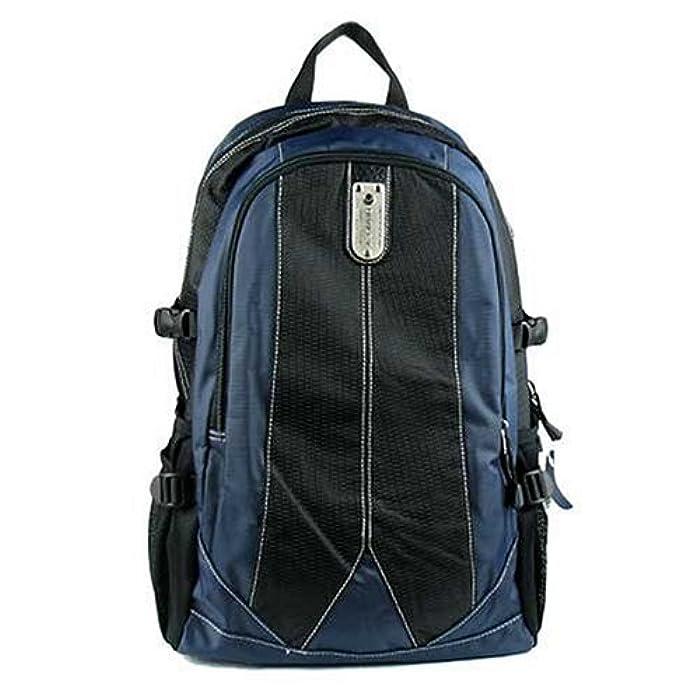 威豹迪威丽 运动休闲双肩背包11131-深蓝配黑图片